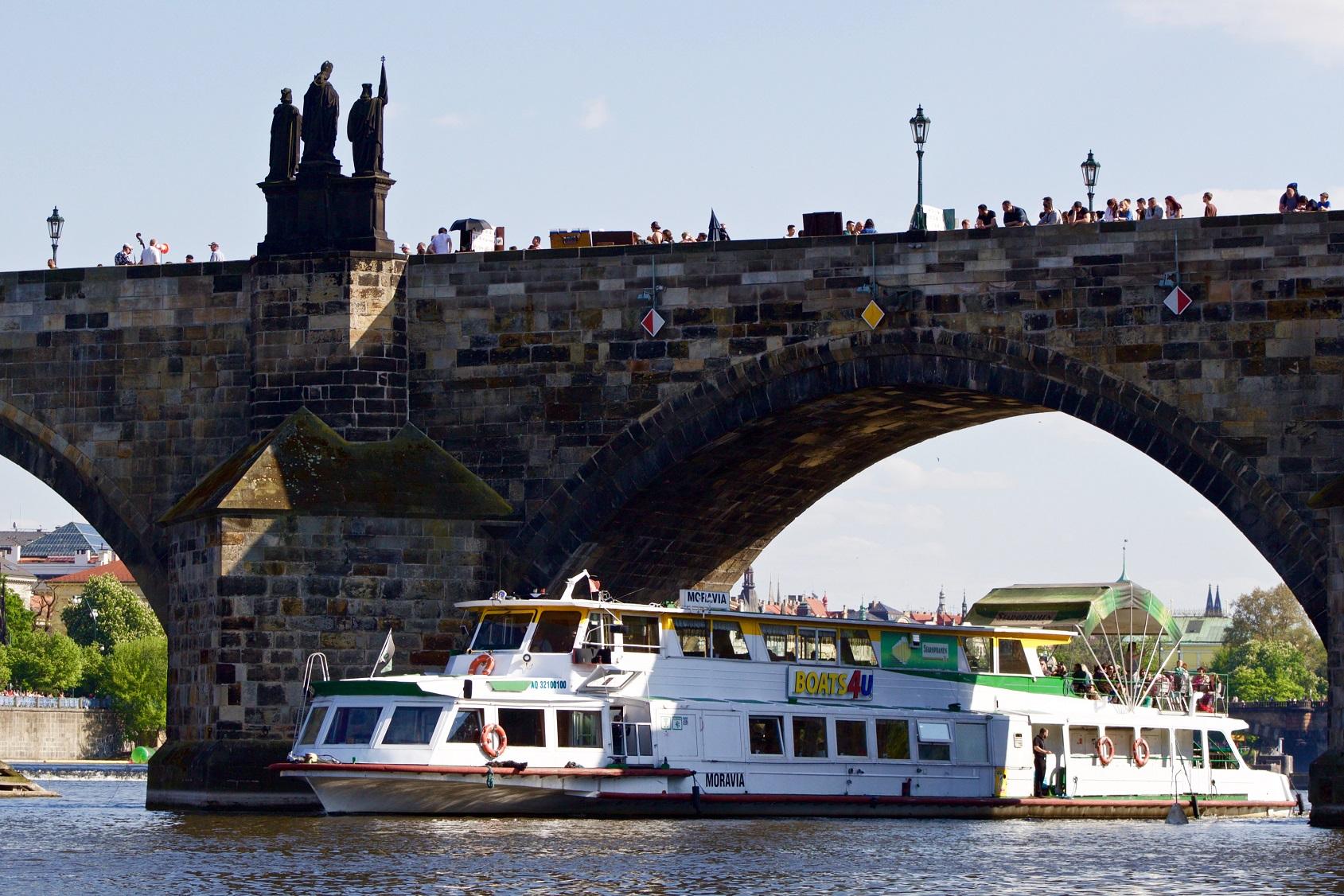 Výletní plavby po Vltavě s firmou Aquavia