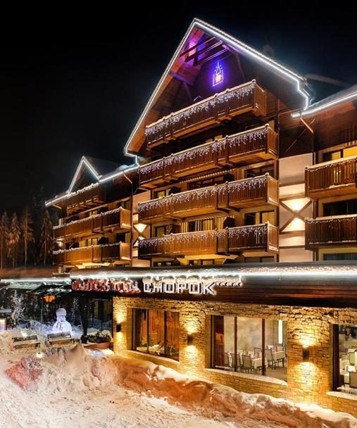 Wellnes hotel Chopok Jasná, Nízké Tatry