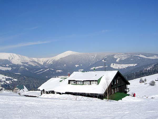 Ubytování u vleku Zahrádky Pec pod Sněžkou